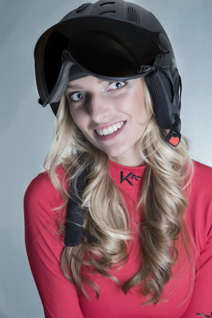 Pully basic red ski