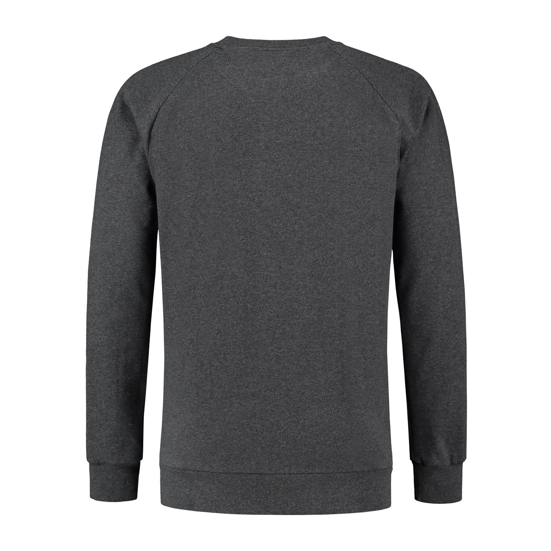 Heren Trui Grijs.Sweater Snow Antramel Kou Sportswear