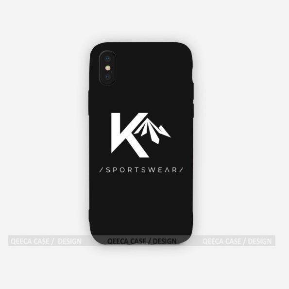 kou iphone x xs bumper logo