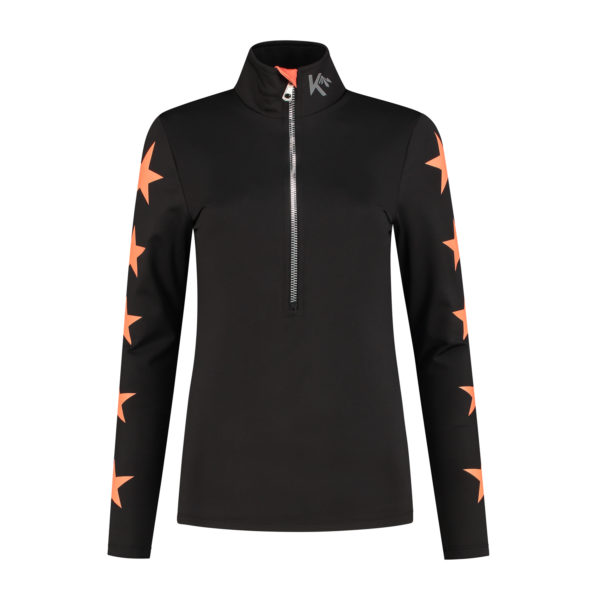 skipully sterren zwart orange.com front