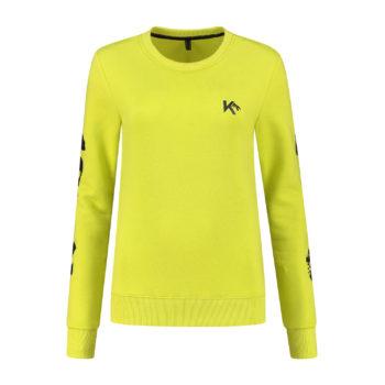 Neon green sweater love