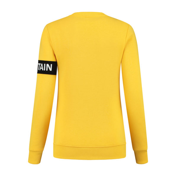 sweater skiteam captain yellow