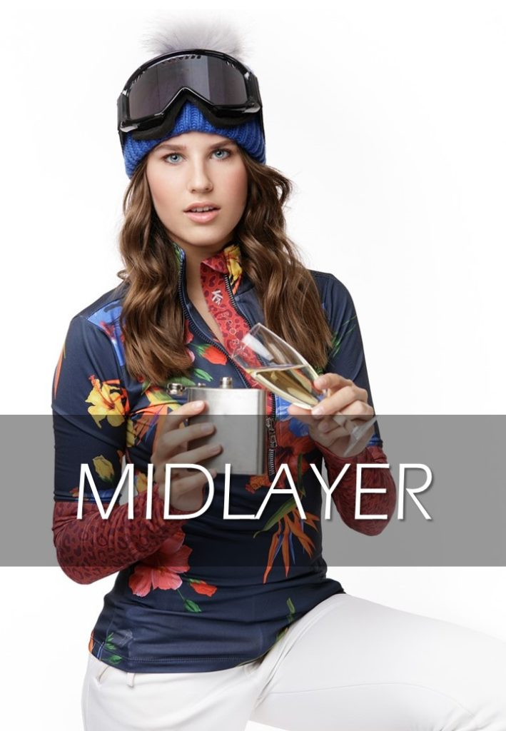 skipully flower midlayer kou sportswear