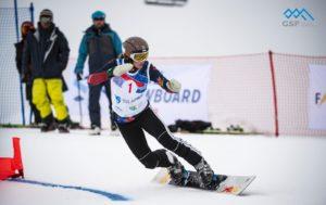 european snowboardig kiki bedier